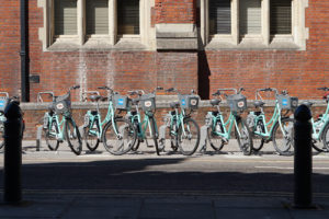 Sharing options for bicycles are also a way of making mobility more flexible.