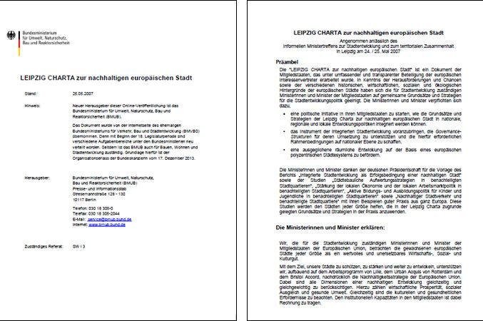 Leipzig Charta 2007