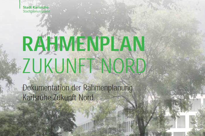 """quarter """"Zukunft Nord"""" Karlsruhe, cover"""