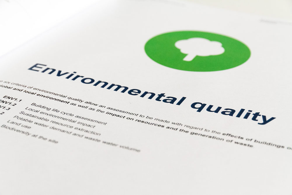 The DGNB Certification System goes into more detail on biodiversity issues affecting building