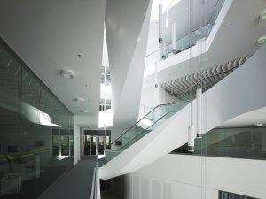 Zentrum für Virtuelles Engineering (Foto: Christian Richters, © Fraunhofer IAO, UNStudio, ASPLAN)