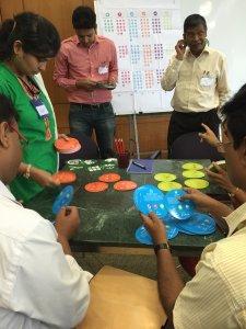 Indische Fachkräfte erlernen das DGNB System für Industriestandorte auf spielerische Weise