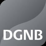 Das DGNB Logo in Platin