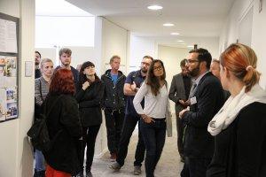 Führung durch die DGNB Geschäftsstelle im Rahmen der World Green Building Week
