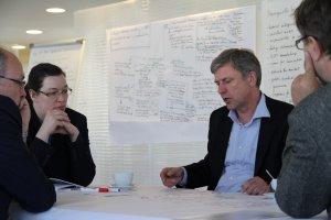 Workshop zum Thema BIM und Nachhaltigkeit im April 2016 bei der DGNB