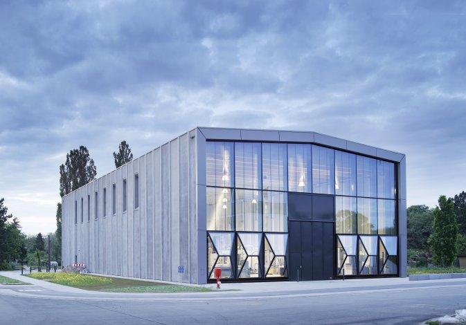 ETA-Modellfabrik Architekten: TU Darmstadt, Dietz Joppien Architekten Foto: Eibe Sönnecken