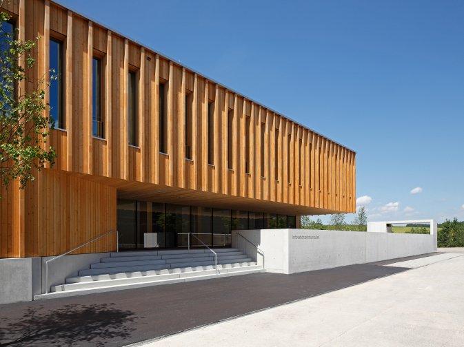 Innovationszentrum an der Hochschule Aalen Architekten: scholl architekten, scholl.balbach.walker Foto: HANS JÜRGEN LANDES Fotografie