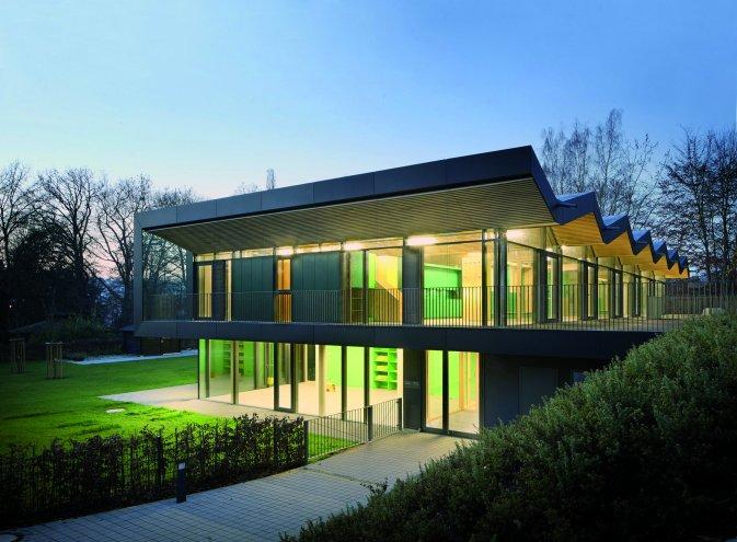+e Kita Marburg | Solarraupe Architekten: Opus Architekten Foto: Eibe Sönnecken