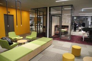 Innenraumgestaltung im 50Hertz Netzquartier | Quelle: DGNB