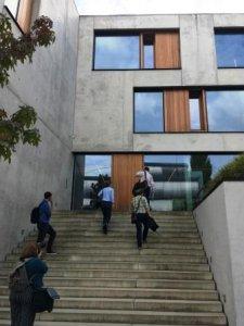 Geführte Tour durch das Bürogebäude Herdweg 19 (blocher partners)