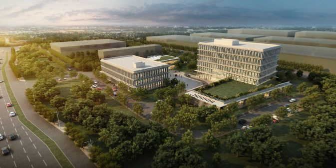 Suqian Yang River Logistics Hub Building 1 & 2 | Copyright: SPIP
