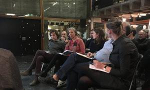 Gesprächsrunde zur Nachhaltigkeit in der Architektur