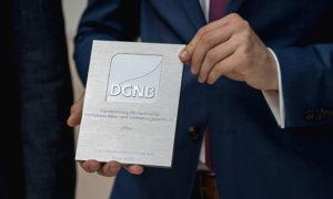 DGNB Auszeichnung für Gebäude im Betrieb