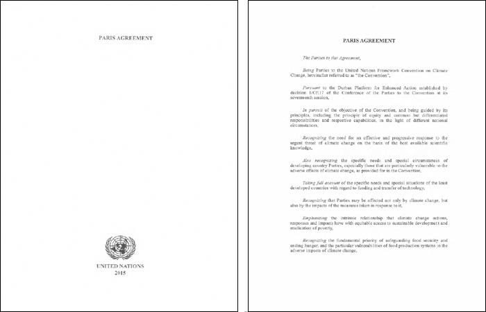 Paris Abkommen