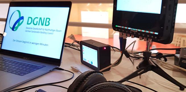 Auch digital per Livestream waren viele Teilnehmer beim Auftakt zur World Green Building Week dabei.