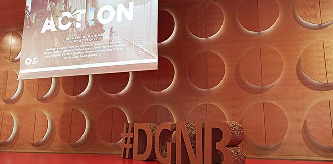 ...das Event war zugleich die DGNB Auftaktveranstaltung zur World Green Building Week und stand unter dem Motto #ActOnClimate.