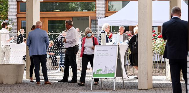 Das erste Treffen des Netzwerks seit langem brachte Mitglieder aus allen Bereichen der Bau- und Immobilienbranche zusammen.