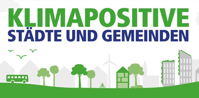 Klimapositive Städte und Gemeinden
