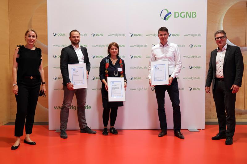 Die Gewinner der DGNB Sustainability Challenge 2020.
