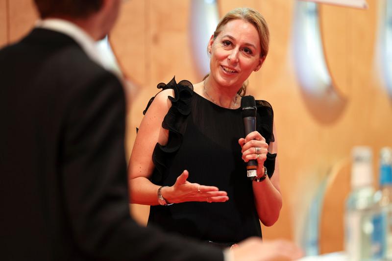 Geschäftsführender Vorstand Dr. Christine Lemaitre beim letztjährigen DGNB Tag der Nachhaltigkeit.