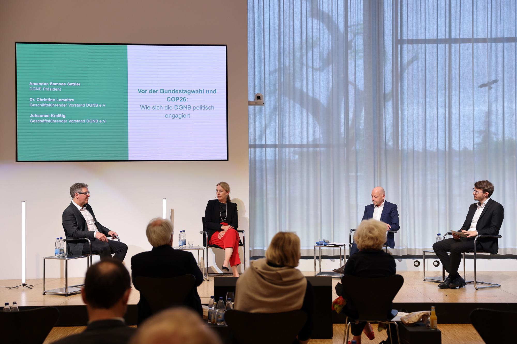 Politisches Engagement der DGNB, Tag der Nachhaltigkeit 2021