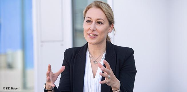 Dr. Christine Lemaitre im Gespräch